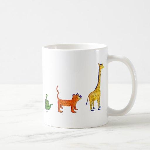 Book Animals Mug