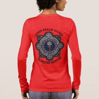 Book Art by K.D. Kromminga--Monster Who Would Be Long Sleeve T-Shirt