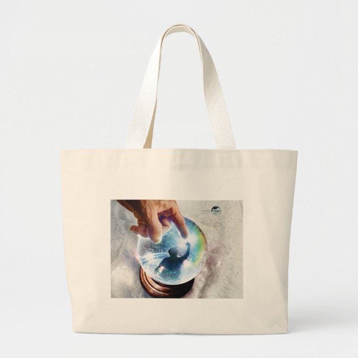 book art large tote bag
