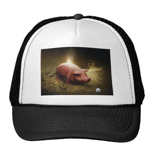 book art trucker hat