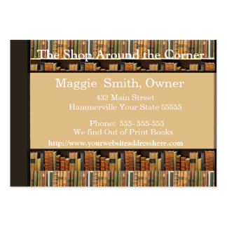 Book Background Business card