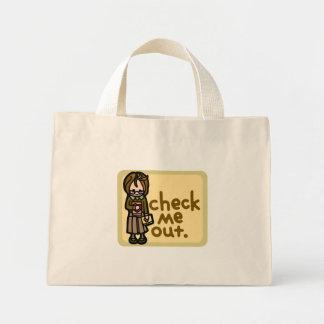 book bag. mini tote bag