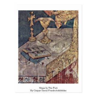 Book (Bible?) On Altar By Simone Martini Post Card