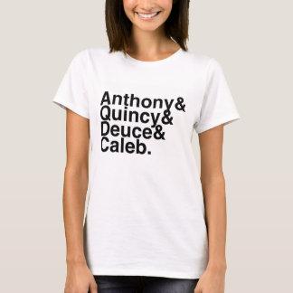 Book Boyfriend- Anthony, Quincy, Deuce, Caleb T-Shirt
