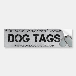 Book Boyfriend Bumper Sticker