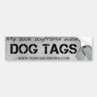 Book Boyfriend Bumper Sticker Car Bumper Sticker