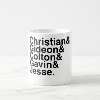 Book Boyfriend- Christian Gideon, Colton, Gavin... Coffee Mug