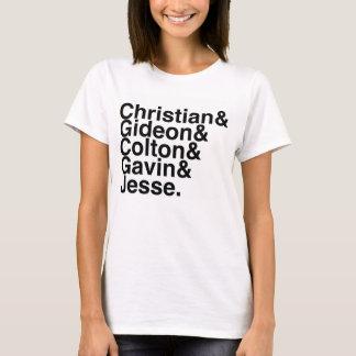Book Boyfriend- Christian Gideon, Colton, Gavin... T-Shirt