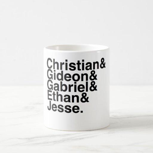 Book Boyfriend- Christian, Gideon, Gabriel, Ethan, Mug