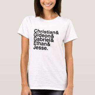 Book Boyfriend- Christian, Gideon, Gabriel, Ethan, T-Shirt