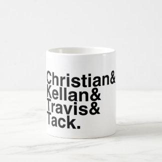 Book Boyfriend- Christian Kellan Travis Tack Coffee Mug