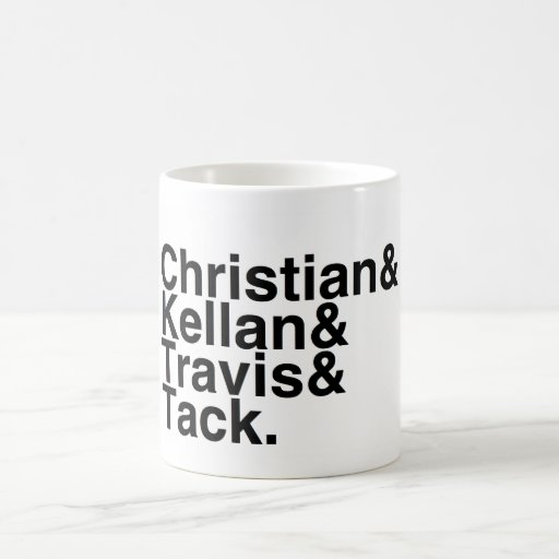 Book Boyfriend- Christian, Kellan, Travis, Tack Coffee Mug