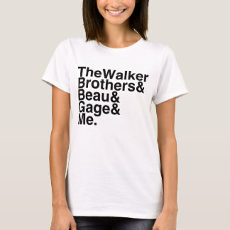 Book Boyfriend- The Walker Brothers, Beau, Gage... T-Shirt