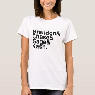 Book Boyfriends — Brandon Chase Gage Kash T-Shirt