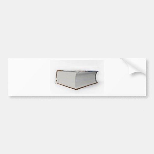 book bumper sticker