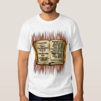 Book Burning T-Shirt