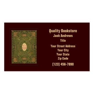 Book Business Card Template
