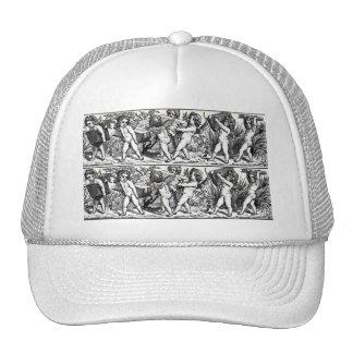 Book Cherub Bookmark Mesh Hat