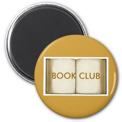 Book Club 2 Inch Round Magnet