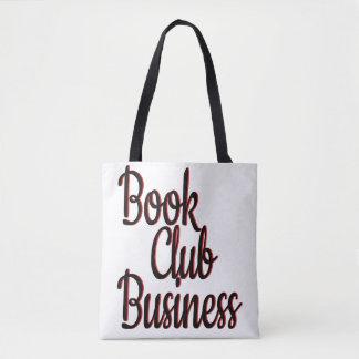 Book Club Business Tote Bag