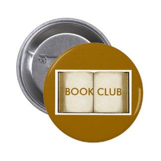 Book Club 2 Inch Round Button