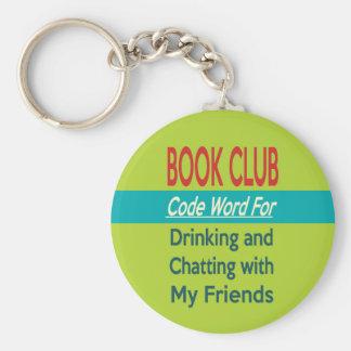 Book Club - Code Word Basic Round Button Keychain