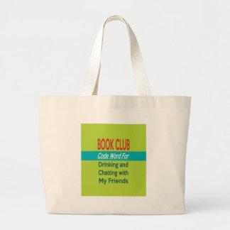 Book Club - Code Word Large Tote Bag