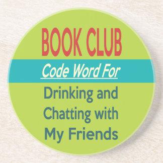 Book Club - Code Word Sandstone Coaster