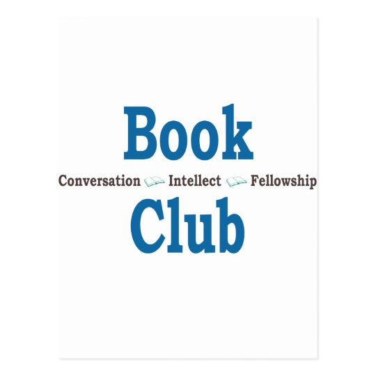 Book Club Conversation Postcard