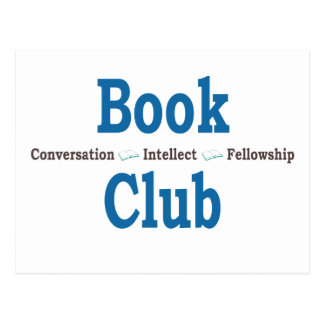 Book Club Conversation Postcard