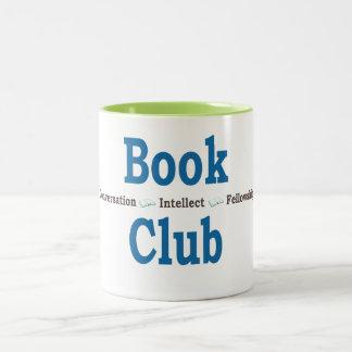Book Club Conversation Two-Tone Coffee Mug
