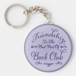 Book Club Friendship Key Holder Keychain