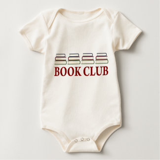 Book Club Gift For Readers Baby Bodysuit