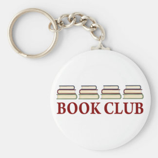 Book Club Gift For Readers Basic Round Button Keychain