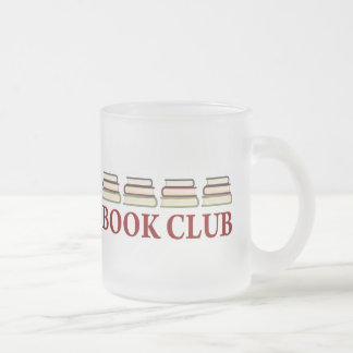 Book Club Gift For Readers Frosted Glass Coffee Mug