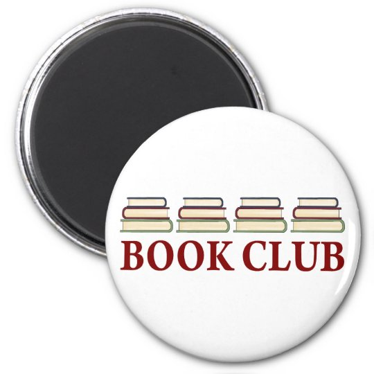 Book Club Gift For Readers Magnet