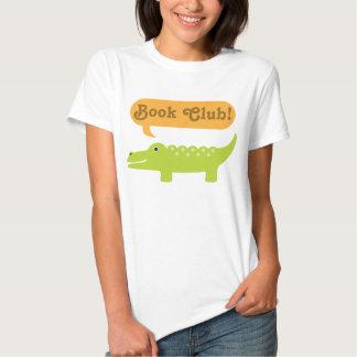 Book Club Gift Idea Alligator Tee Shirt