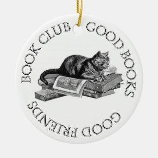 Book Club - Good Books - Good Friends Christmas Tree Ornaments