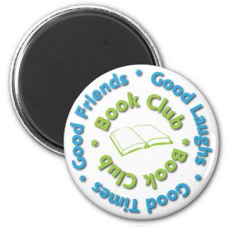 book club good friends 2 inch round magnet