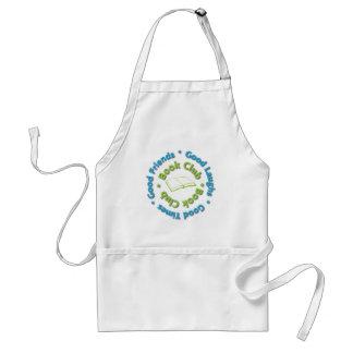 book club good friends adult apron