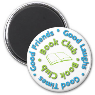 book club good friends magnet