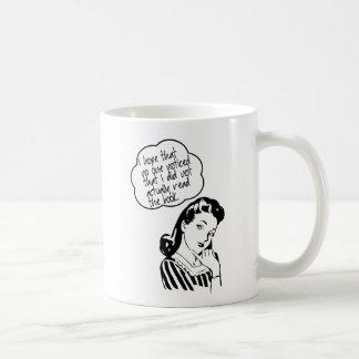 Book Club - I Hope - Retro Coffee Mug