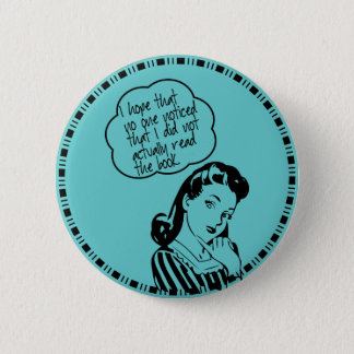 Book Club - I Hope - Retro Pinback Button