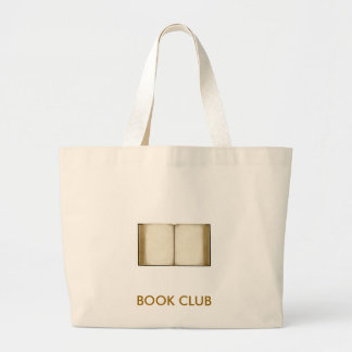 Book Club Jumbo Tote Bag