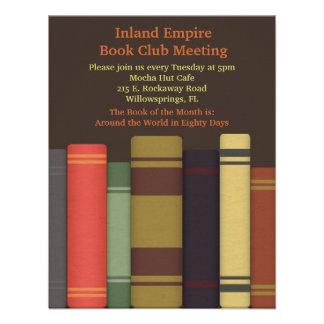 Book Club Meeting Invitations