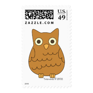 Book Club Owl Postage