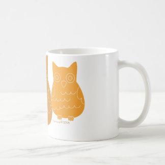 Book Club Owls Coffee Mugs