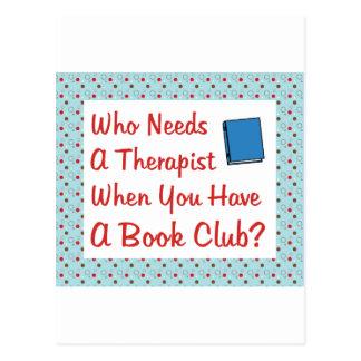 book club post card