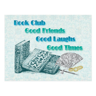 book club post cards