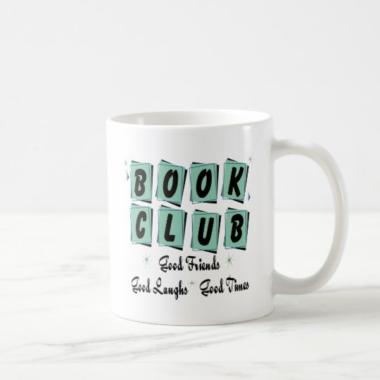 Book Club Retro - Good Friends, Times and Laughs Coffee Mug